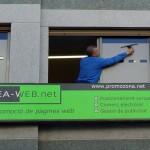 Limpieza de cristales en oficinas de Valencia